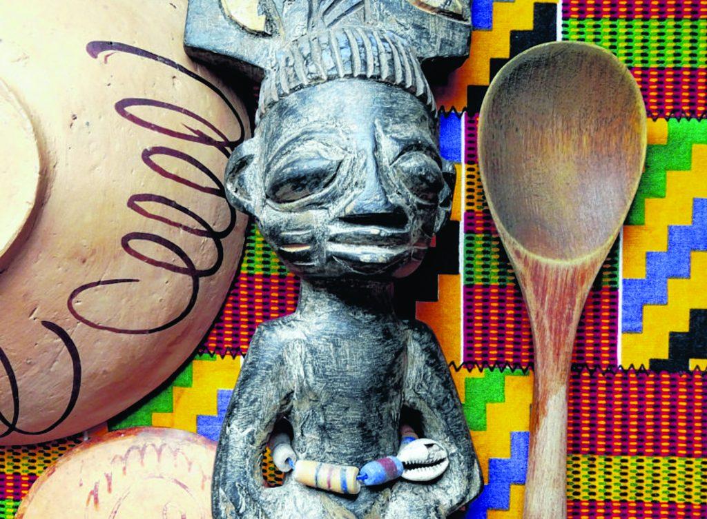 Livro fala de hábitos alimentares de origem africana.