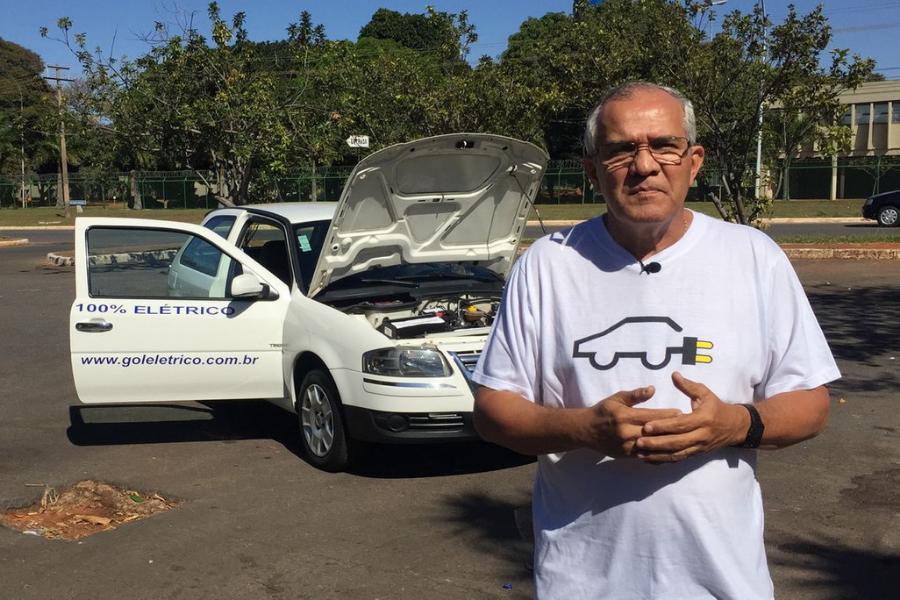 Rede de recarga ultrarrápida de veículos elétricos em São Paulo