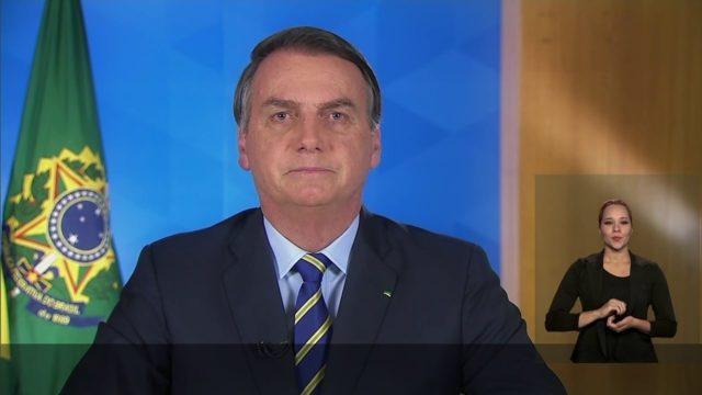 Pronunciamento Bolsonaro