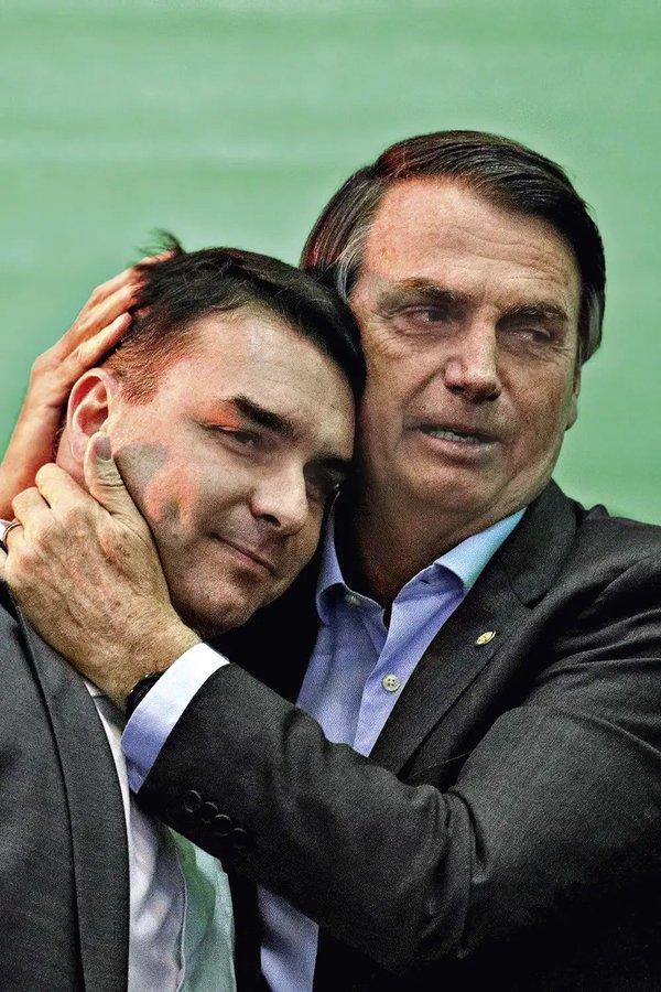 Flavio e Bolsonaro
