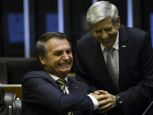 General Heleno e Bolsonaro