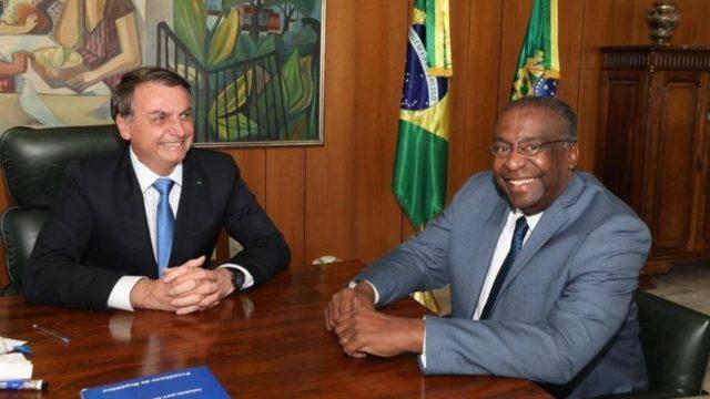 Bolsonaro e Carlos Decotelli