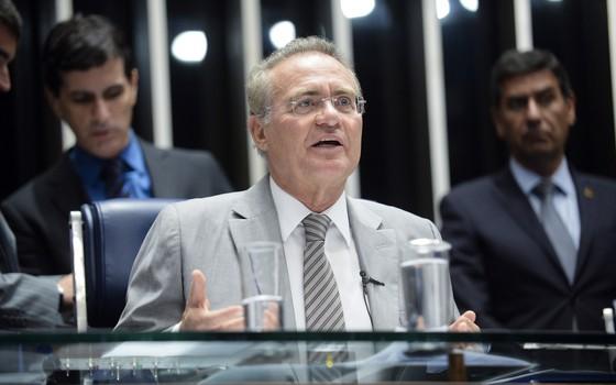 Renan Calheiros recesso parlamentar
