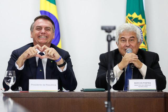 Pontes e Bolsonaro