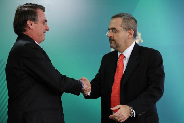 Weintraub e Bolsonaro