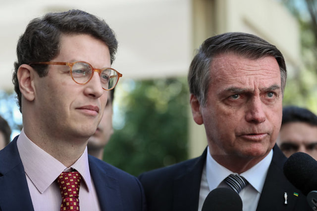 Meio ambiente - Salles e Bolsonaro