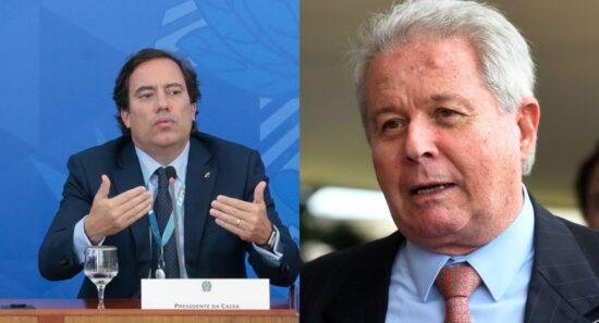 Rubem Novaes e Pedro Guimarães