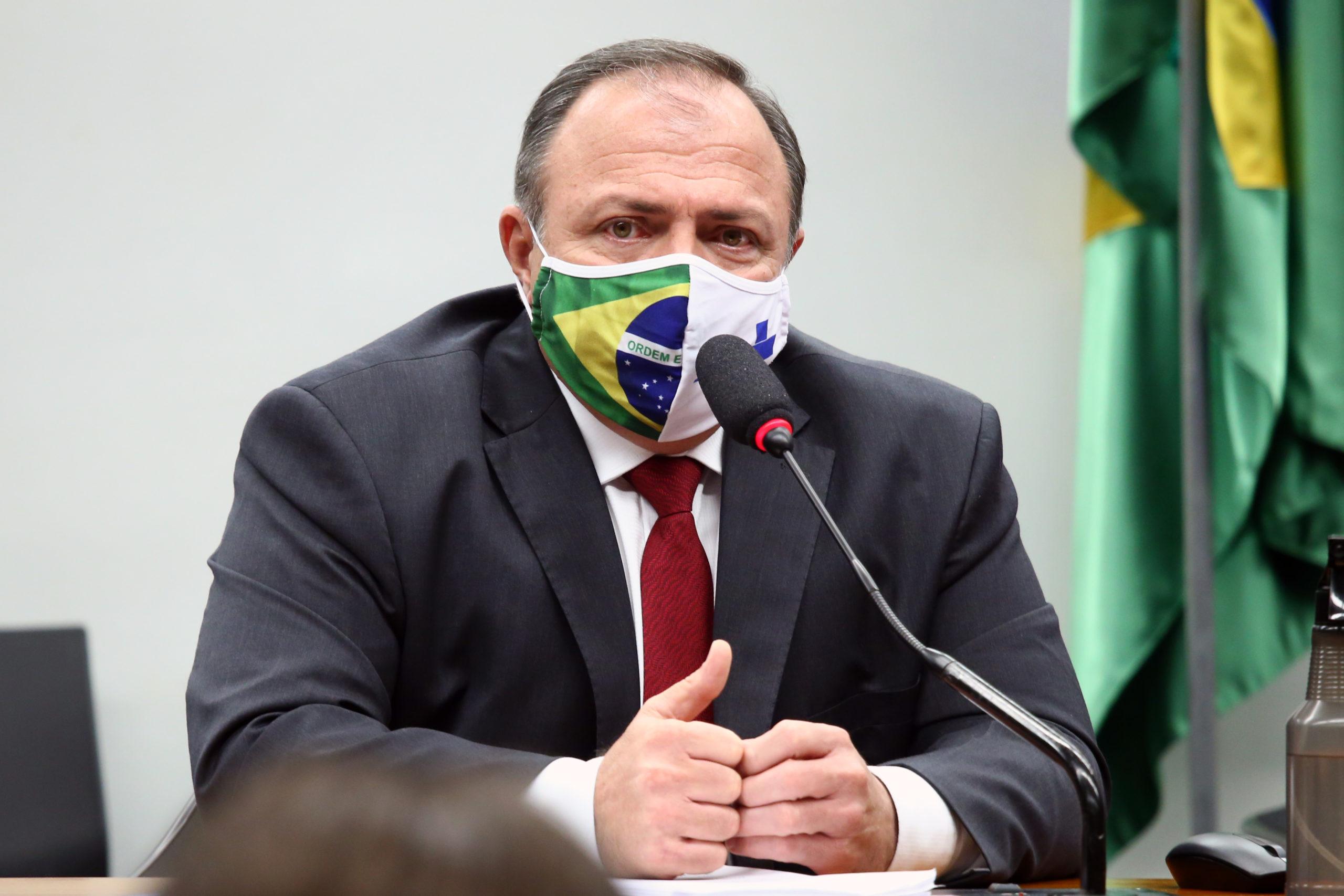 Pazuello não ficará no cargo de ministro da Saúde, declara Bolsonaro