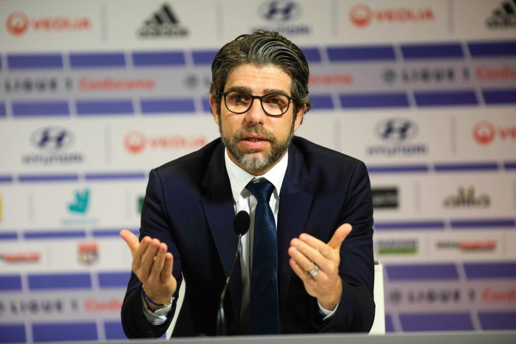 Ex-jogador do Vasco e atual dirigente do Lyon, Juninho Pernambucano
