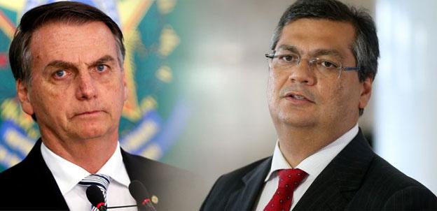 Dino e Bolsonaro
