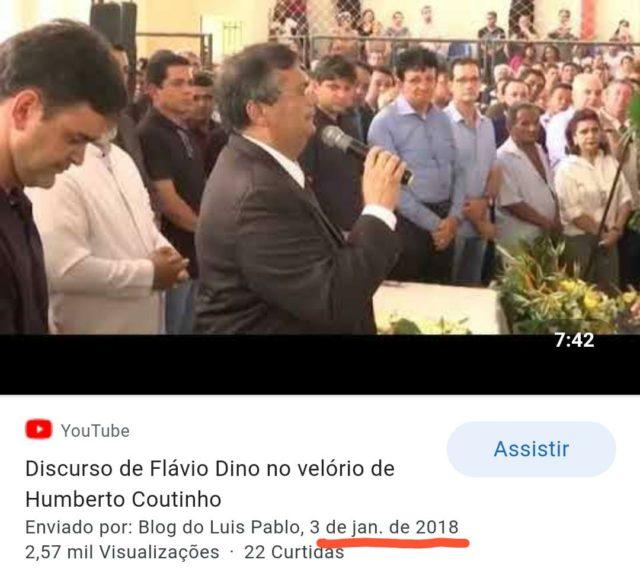 Flávio Dino - fake news