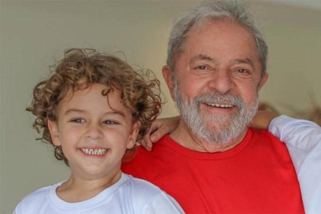 Lula e neto