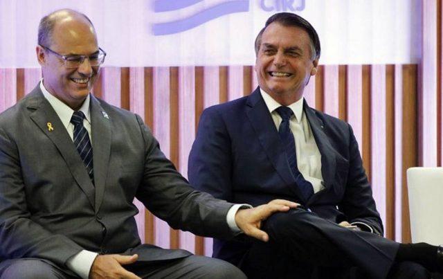 Witzel e Bolsonaro