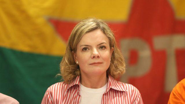 Gleisi Hoffmann - Presidente nacional do PT