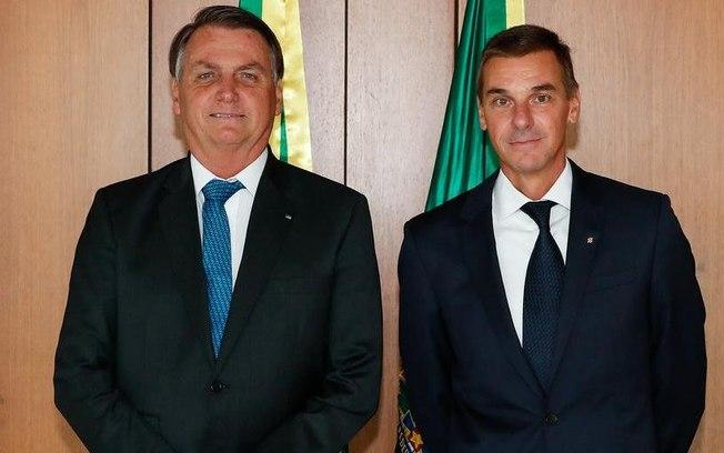 Jair Bolsonaro e André Brandão
