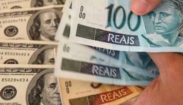 Real x dólar