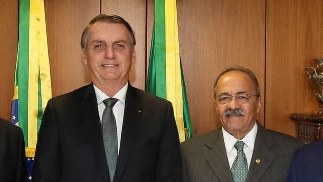 Senador Chico Rodrigues e Bolsonaro