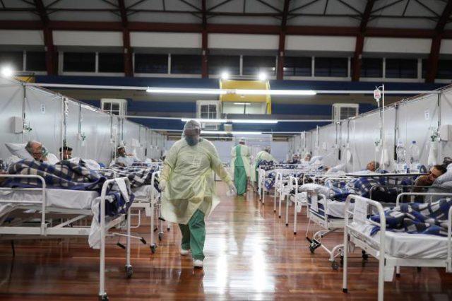 Brasil covid-19 pandemia infectados