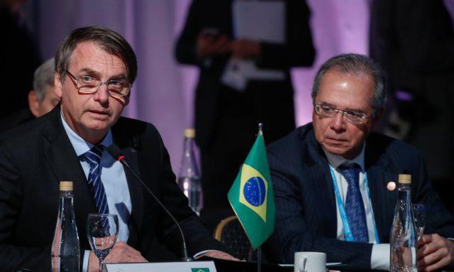 Jair Bolsonaro e Paulo Guedes Brasil