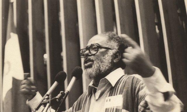 Deputado Abdias do Nascimento (PDT/RJ) 1983-1987/ Foto: Reprodução