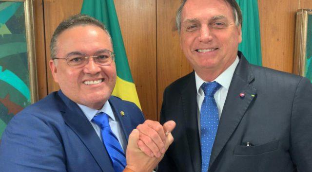Bolsonaro e Roberto Rocha