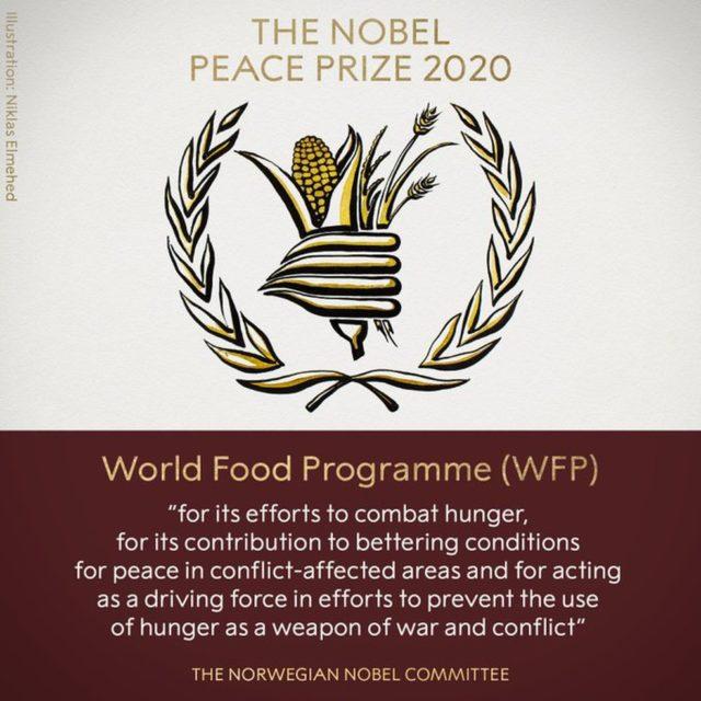 Nobel da Paz ONU