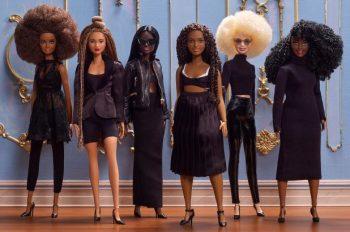 Representatividade importa, sim! Linha Mattel de bonecas profissionais negras Foto: Divulgação