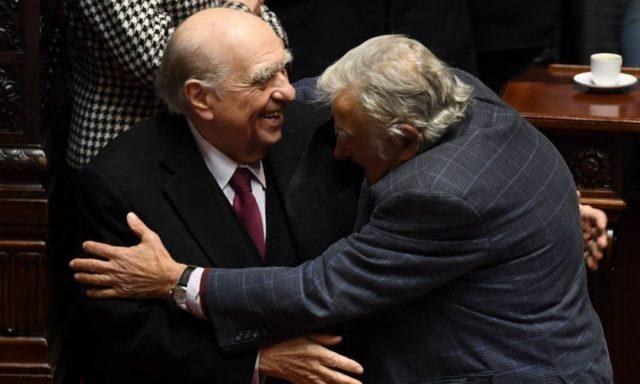 Mujica e Sanguinetti