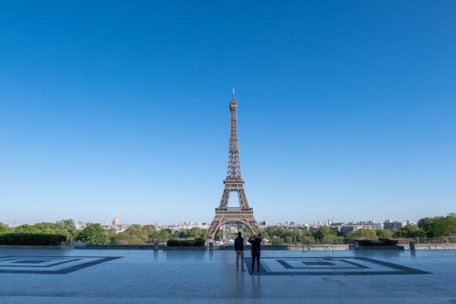 Covid-19 Europa Paris
