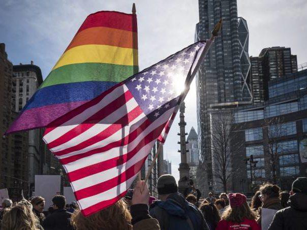 Comunidade LGBT+ teve recorde de candidatos e eleitores em 2020 (Ira L. Black/Corbis/Getty Images) Reprodução