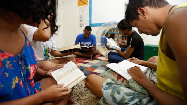 Entre as dez capitais brasileiras que mais leram em 2019, cinco delas ficam no Nordeste diz, pesquisa do Instituto pró-livro Foto: JL Rosa/ Diário do Nordeste