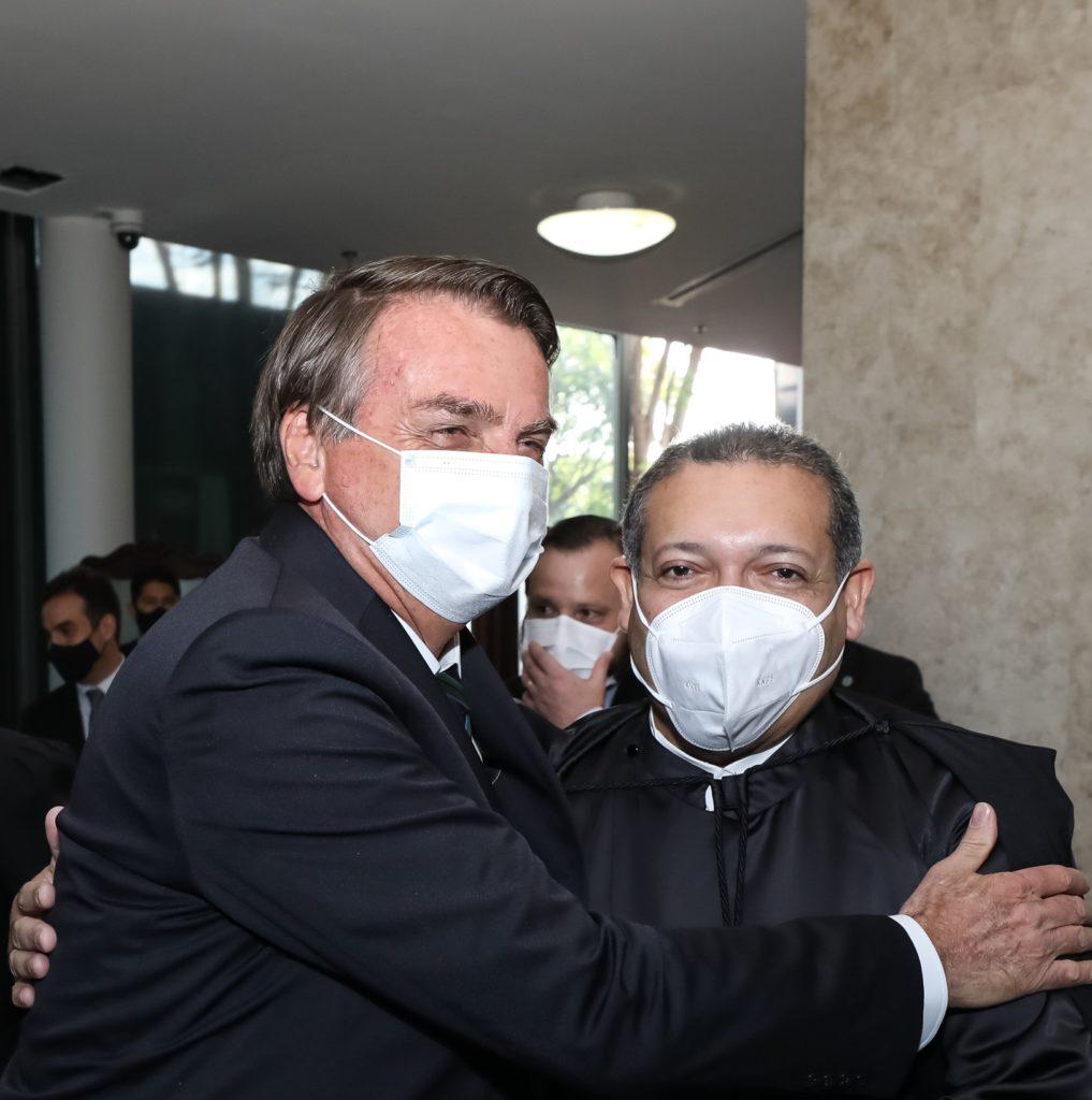 Jair Bolsonaro e Kassio Nunes Marques