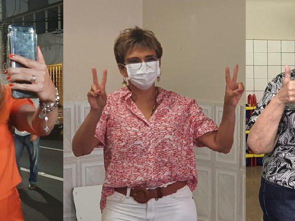 Elisa Araújo, do Solidariedade, Marília Campos, do PT e Margarida Salomão, do PT, são eleitas prefeitas de Uberaba, Contagem e Juiz de Fora. — Foto: Reprodução