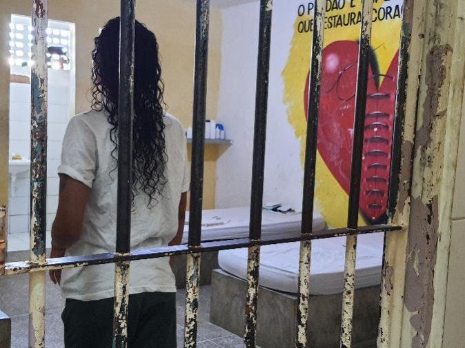 Registro de vistoria no Centro Socioeducativo Aldaci Barbosa Mota, em Fortaleza Foto: Centro de Defesa da Criança e do Adolescente do Ceará