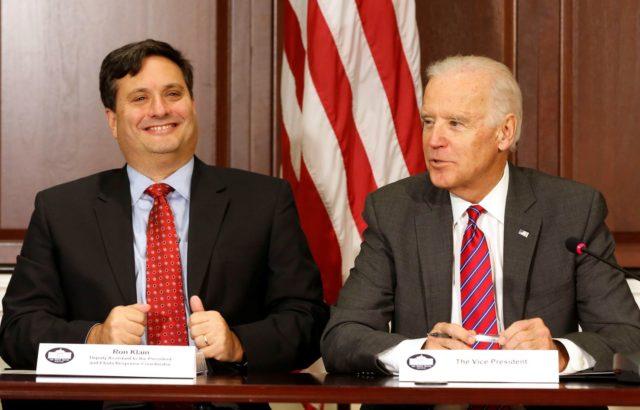 Ronald Klain e Joe Biden