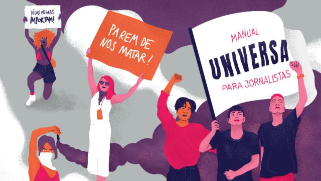 Capa manual Universa para jornalistas Imagem: Reprodução/ Deborah Faleiros/UOL
