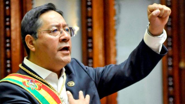 Luis Arce Bolívia