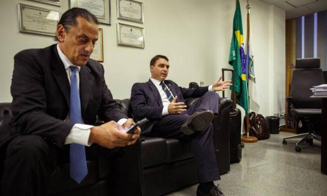 Wassef e Eduardo Bolsonaro