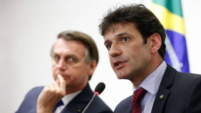 Bolsonaro e Marcelo Antônio