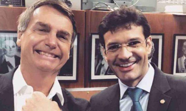 Marcelo Álvaro Antônio e Bolsonaro