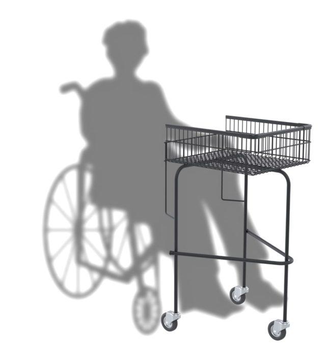 Câmara dos Deputados aprovou o Projeto de Lei 485/19 que exige que grandes estabelecimentos deverão ter 2% dos carrinhos com acessibilidade - Foto: Reprodução