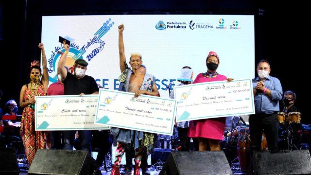 """Festival da Música 2020 - Escrita por Shirley Diógenes e interpretada por Jeffe, a música """"Se Eu Fosse Eu"""" foi a vencedora da competição - Foto: Divulgação/Prefeitura de Fortaleza"""