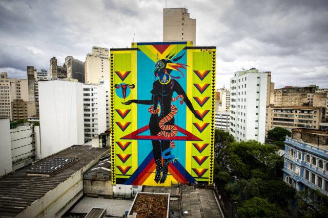 Na petição, morador de Belo Horizonte argumentou que obra da artista Criola seria de gosto duvidoso Foto: Reprodução
