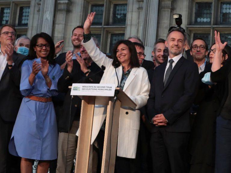 """""""A gestão da prefeitura se tornou, de repente, feminista demais"""", disse a prefeita de Paris, Anne Hidalgo/ Foto: Reprodução"""
