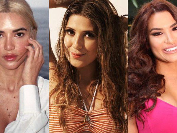 Dani Calabresa é o nome feminino que mais cresceu em buscas no Google em 2020; Manu Gavassi, Mari Ferrer e Raissa Barbosa estão estão na lista - Reprodução/ Instagram