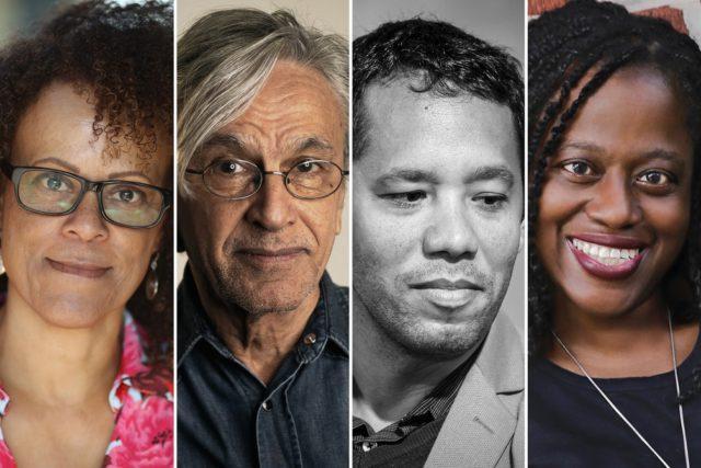 Bernardine Evaristo, Caetano Veloso, Itamar Vieira Junior e Regina Porter foram os destaques da Flip 2020 — Foto: Divulgação