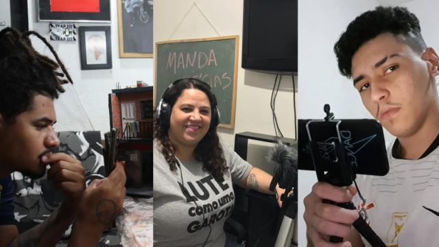Três personalidades periféricas que marcaram a web em 2020 Imagem: Desenrola E Não Me Enrola/ Reprodução