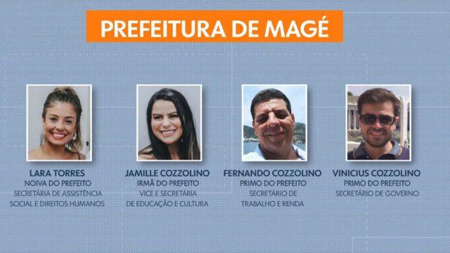 Chefe do Executivo de Magé emprega parentes entre eles: Irmã, noiva e primos que viraram secretários - Foto: Reprodução
