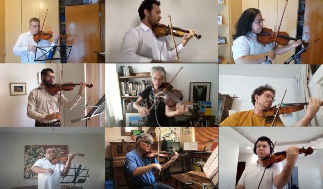 A Orquestra Sinfônica Nacional (OSN) completa hoje (12) 60 anos, com um concerto virtual ao meio-dia - Foto: Reprodução