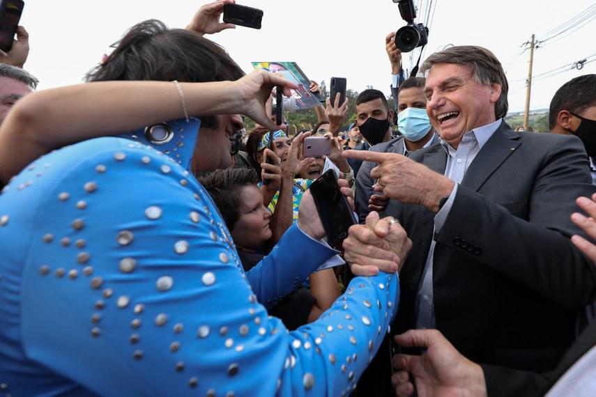 """Bolsonaro: """"O país está quebrado, e eu não consigo fazer nada"""" Foto: Marcos Corrêa/ PR"""
